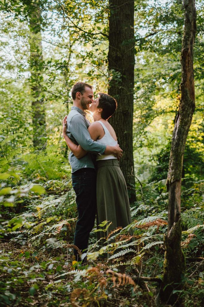 Séance engagement au coeur de la forêt