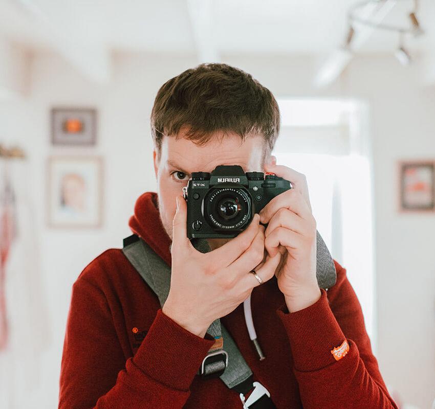 Jérémy Stenuit Photographe photo de profil