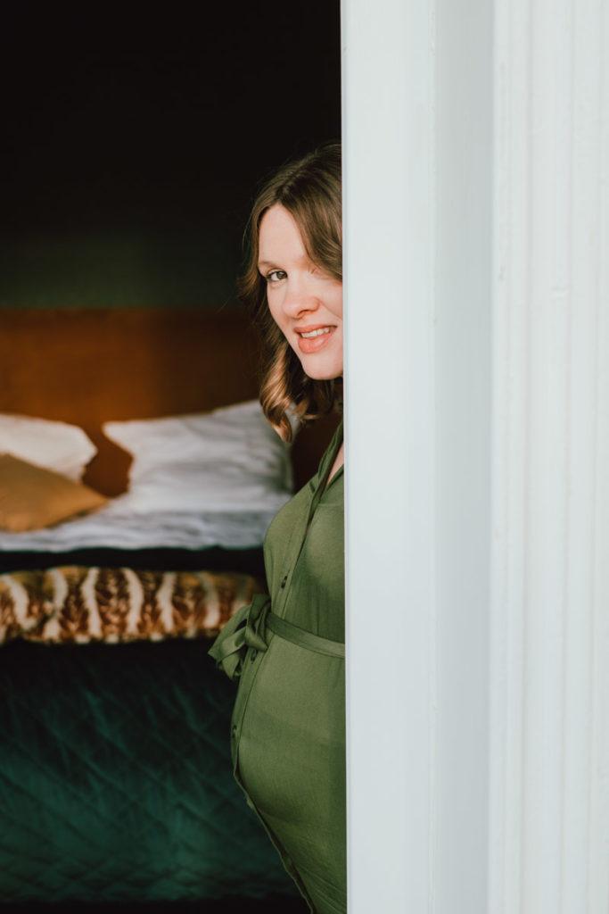 Séance grossesse à la villa balat à Namur