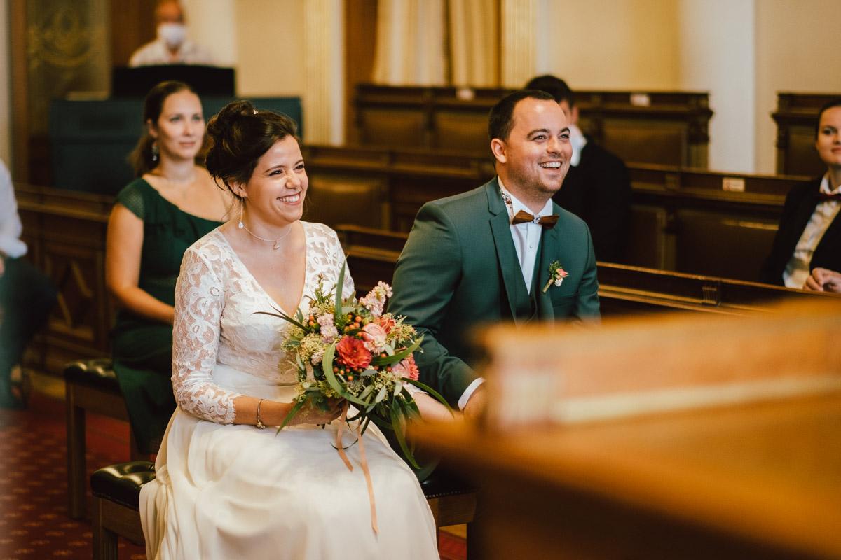 Mariage civil de Sandra et Alexandre à la commune d'Ixelles