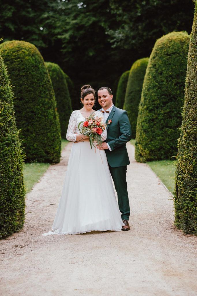 Mariage à l'Abbaye de la Cambre à Ixelles